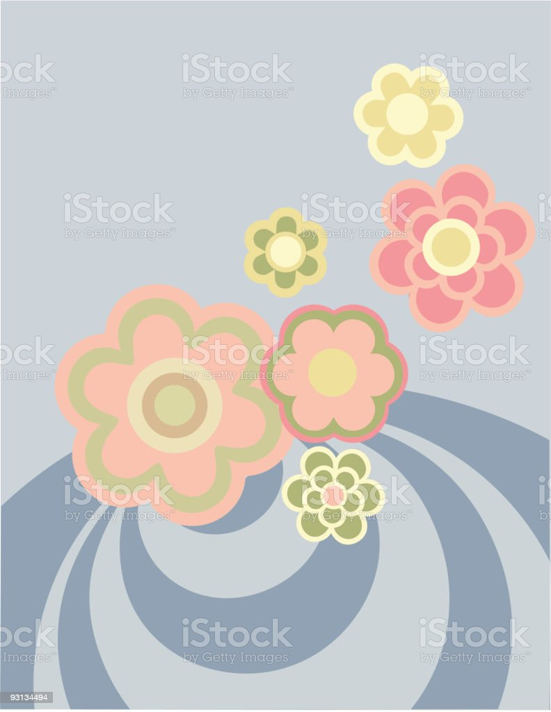 Waiting For Spring Time royalty-free stock vector art