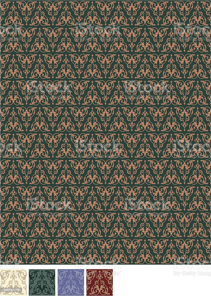 Wallpaper Pattern (Vector) royalty-free stock vector art