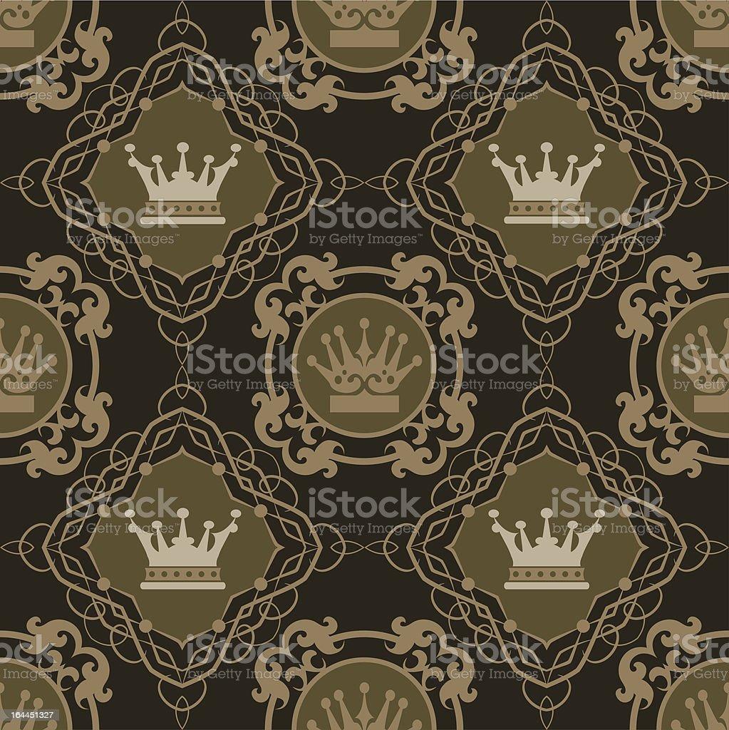 wallpaper seamless pattern royalty-free stock vector art