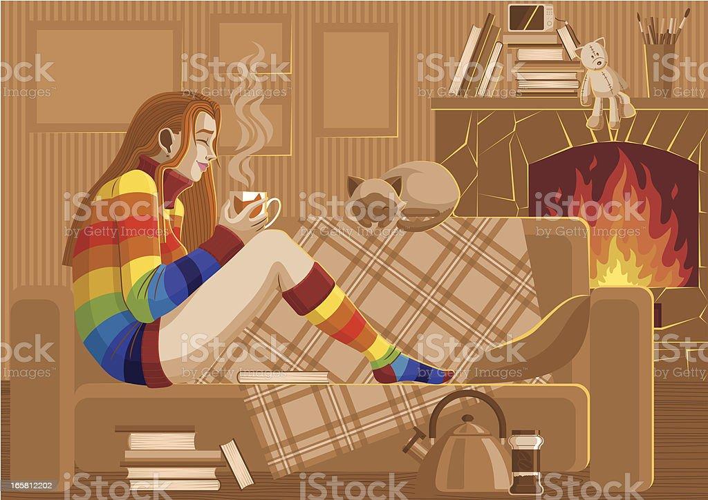 Warming vector art illustration