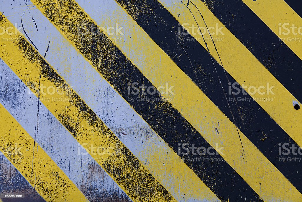 Warning background vector art illustration