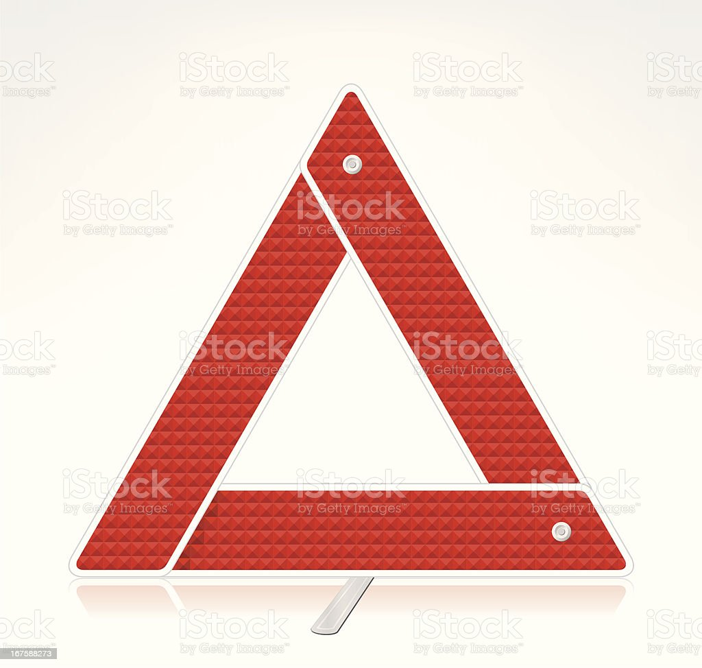 Warning Triangle royalty-free stock vector art