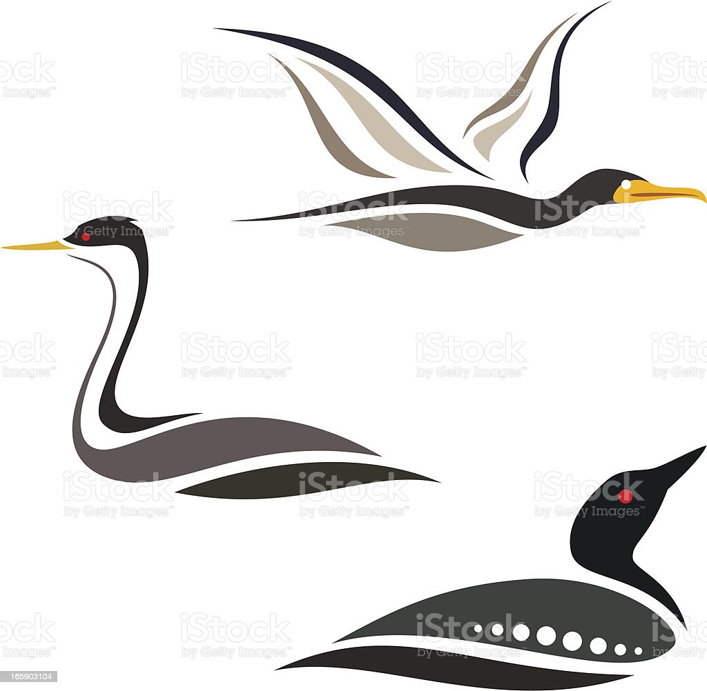 Loon Clip Art, Vector Images & Illustrations - iStock