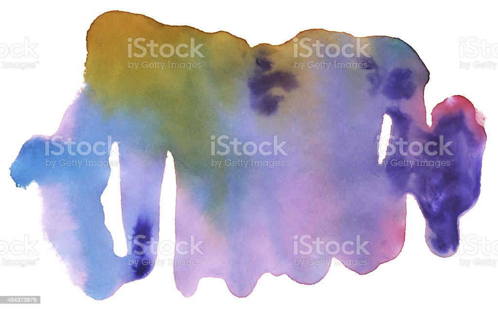 Water Color Abstract Paint Splatter Stock Texture royalty-free stock vector art