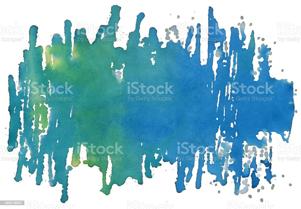 Water Color Paint Splatter Stock Texture royalty-free stock vector art