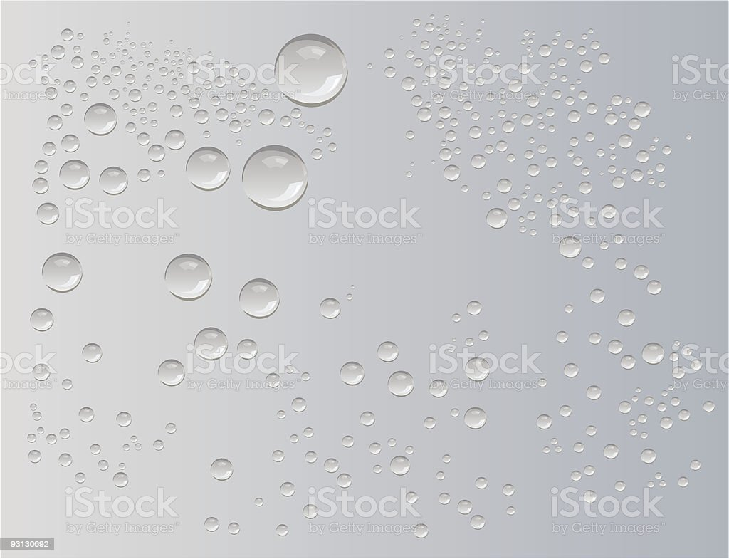 water drops vector royalty-free stock vector art