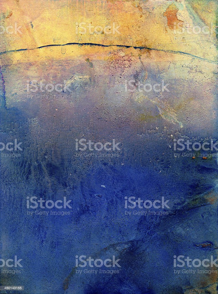 watercolor and gouache background royalty-free stock vector art