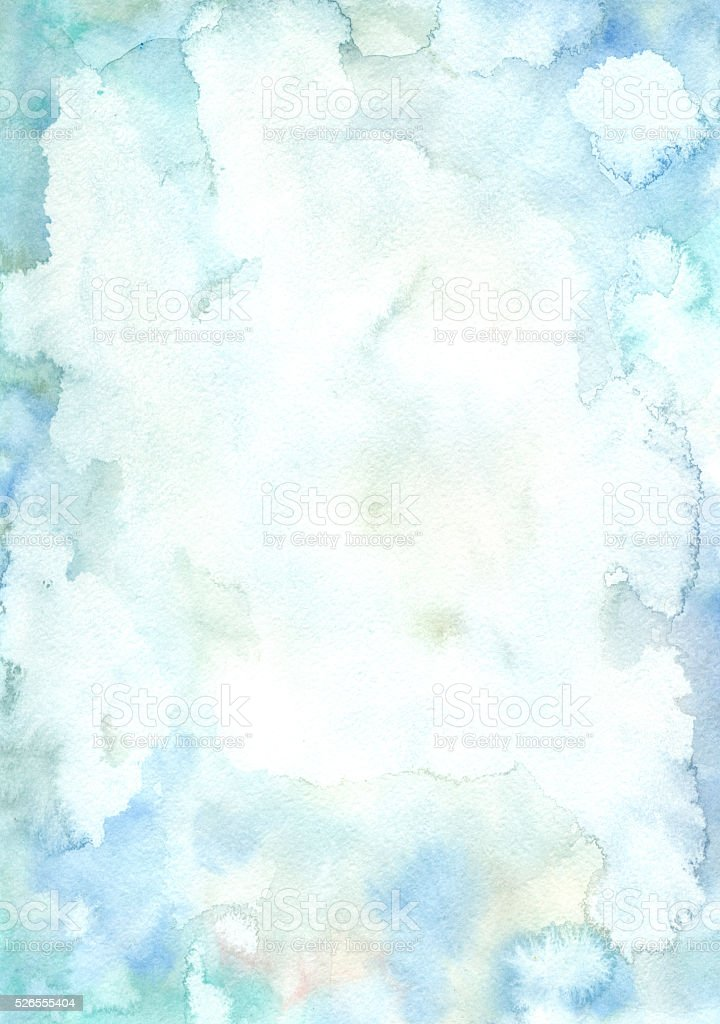 watercolor background vector art illustration