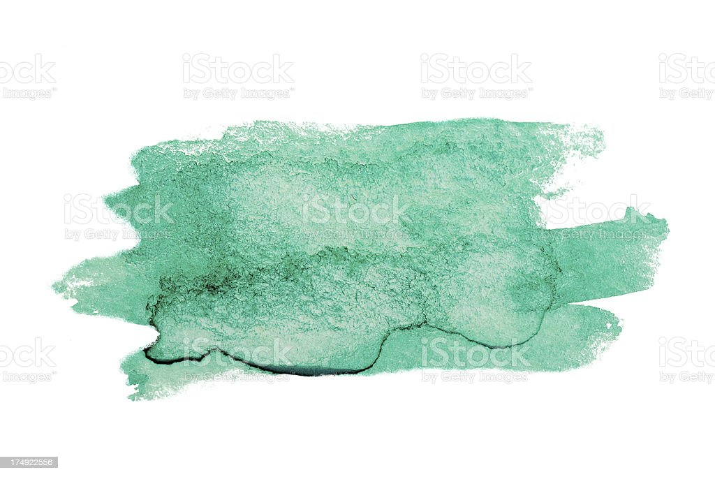 watercolor brush vector art illustration