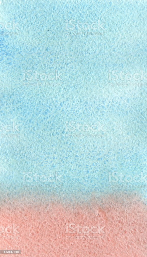Watercolor gradient background in frosty and winter colors. vector art illustration
