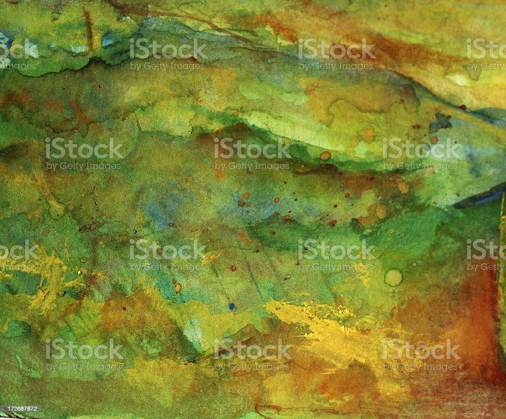 Aquarell Landschaft Lizenzfreies vektor illustration