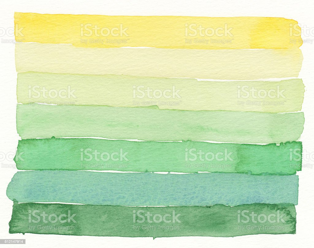watercolor layers colorful textures vector art illustration