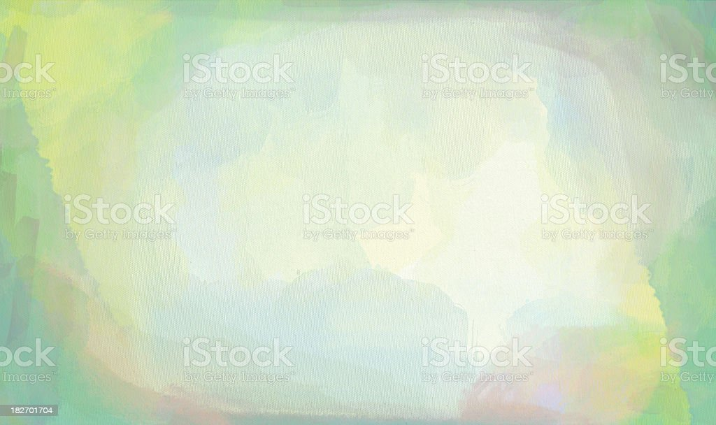 Watercolor paint colored Stained Canvas series royalty-free stock vector art