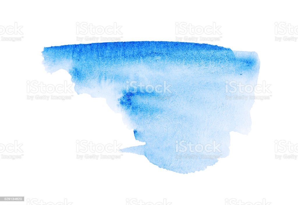 Watercolor Paint Splash Abstract stock photo