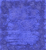 Watercolor painted abstract background in indigo