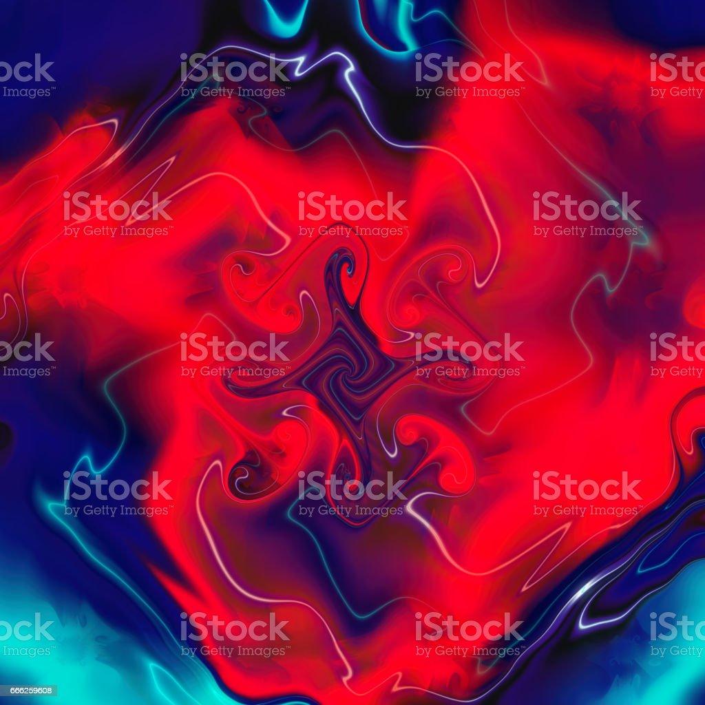 Watercolor palette. Blur color. Pattern on silk. vector art illustration