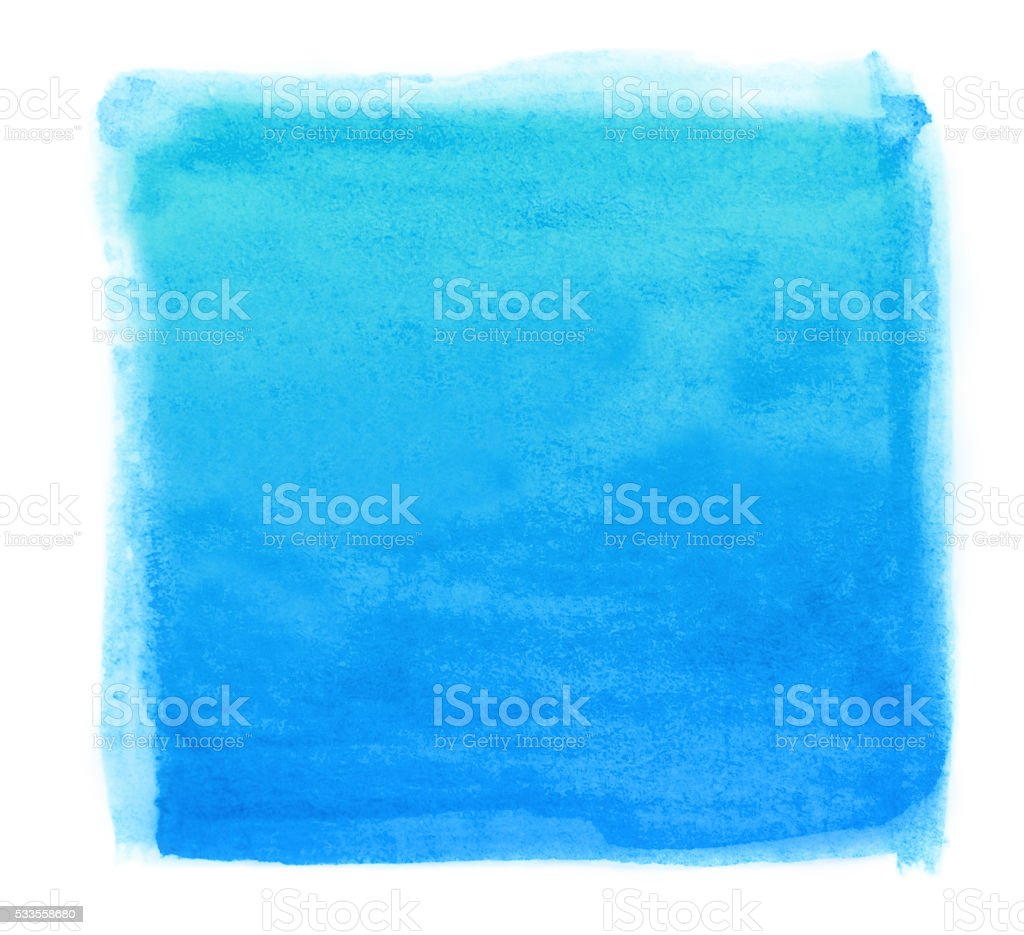 Watercolor Square Abstract vector art illustration