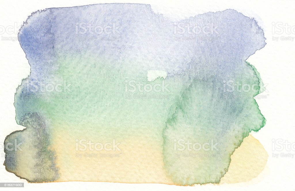 watercolor wet textures cold tones vector art illustration