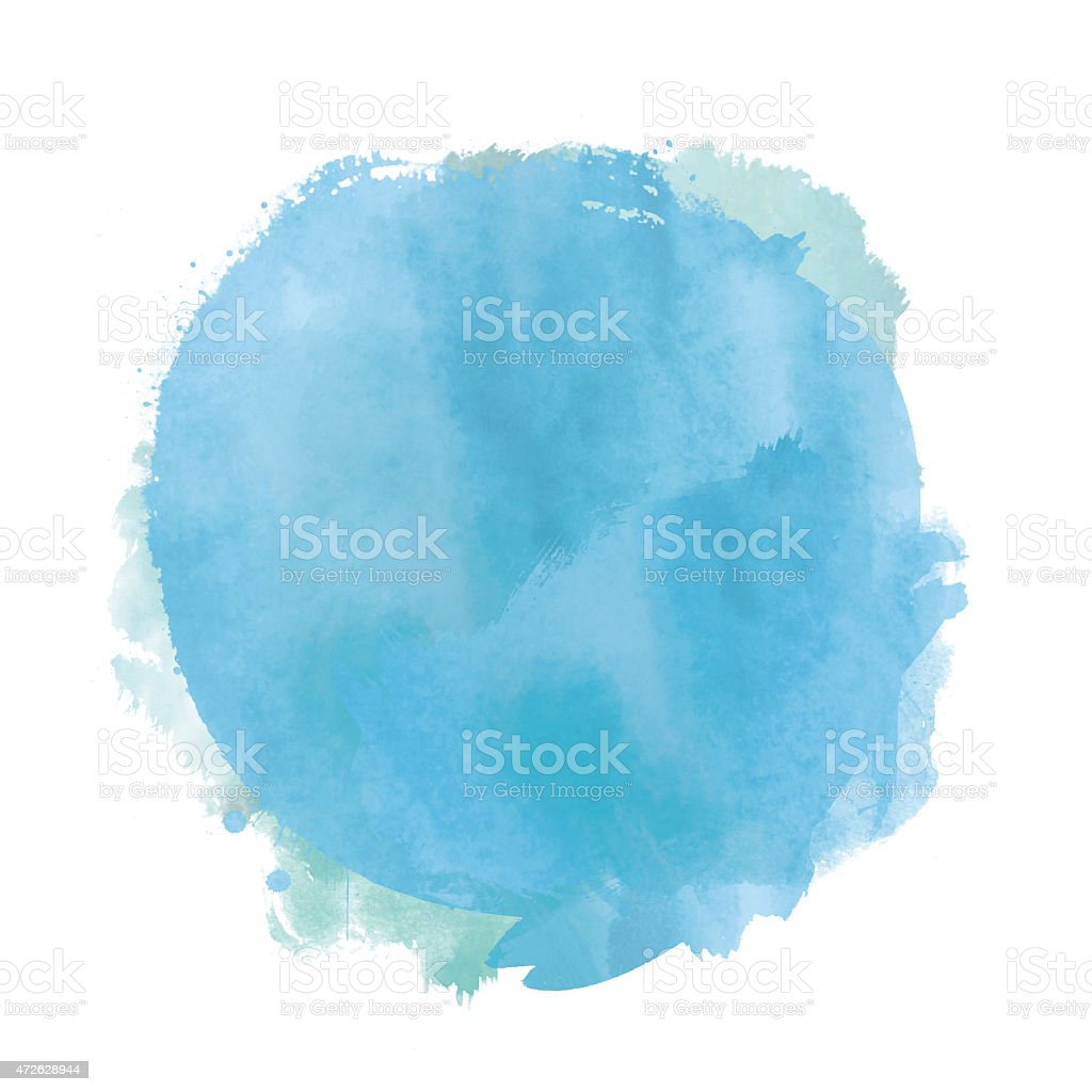 Watercolour background vector art illustration