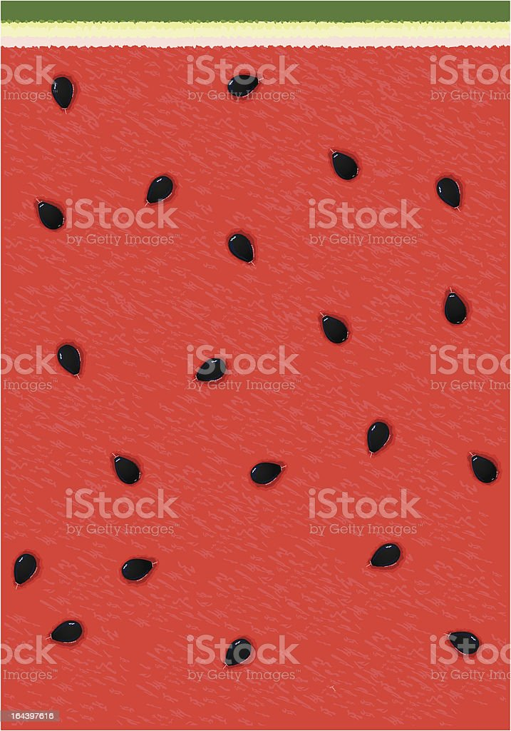Watermelon background royalty-free stock vector art