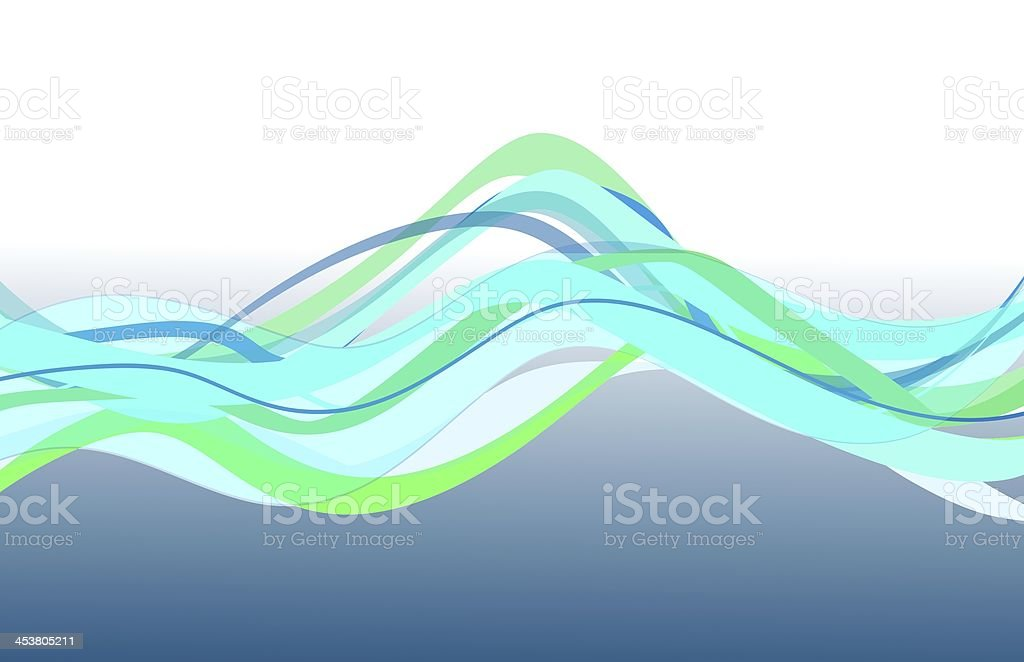 wave royalty-free stock vector art