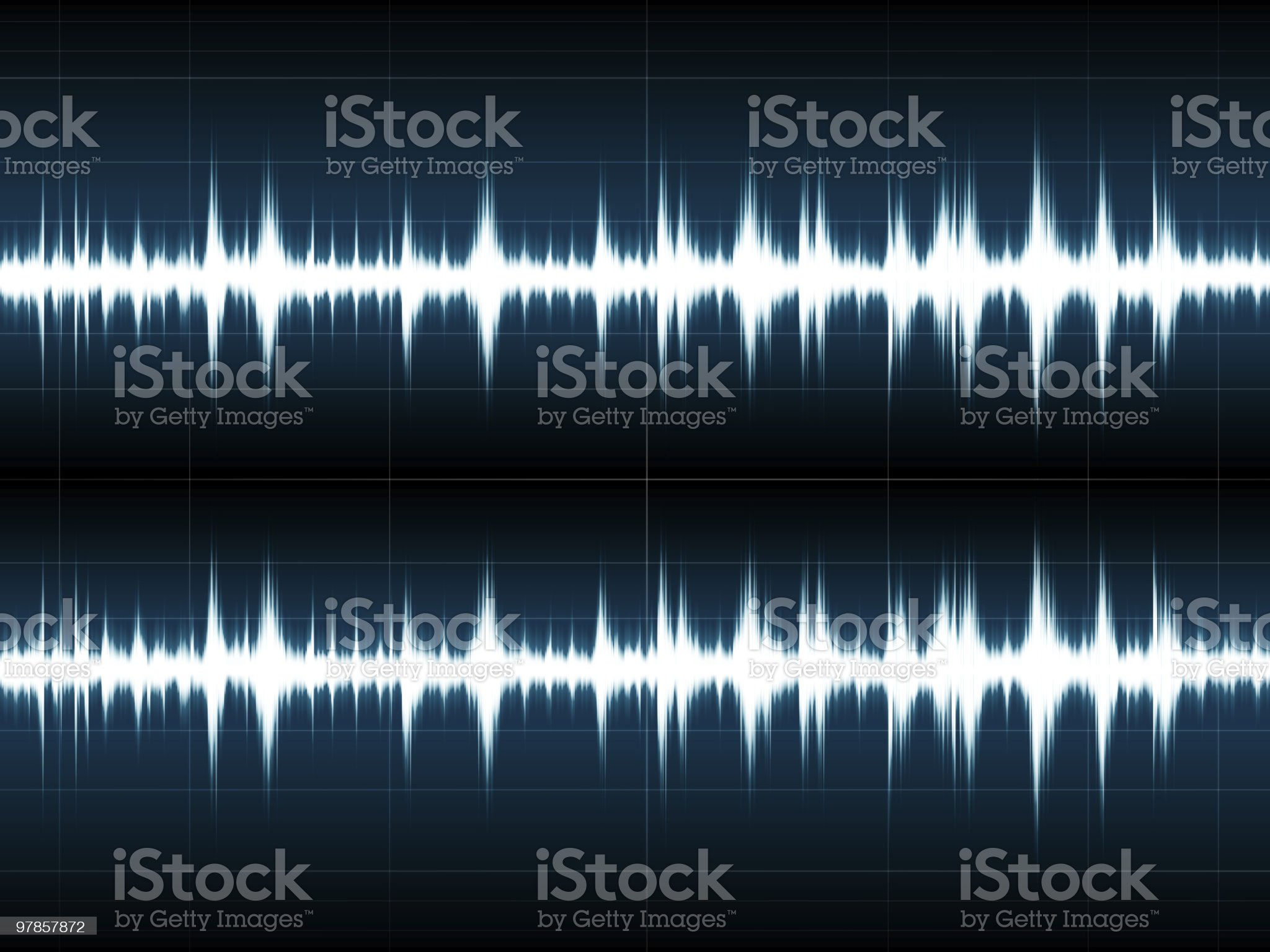 Wave Sound royalty-free stock vector art