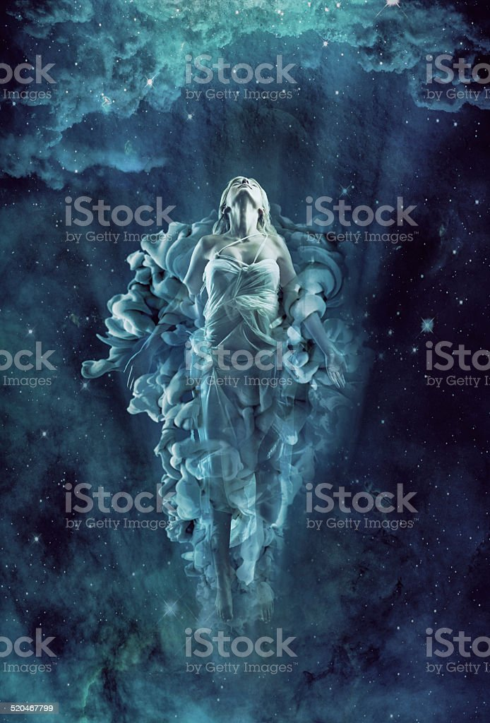 We are all made of stardust vector art illustration