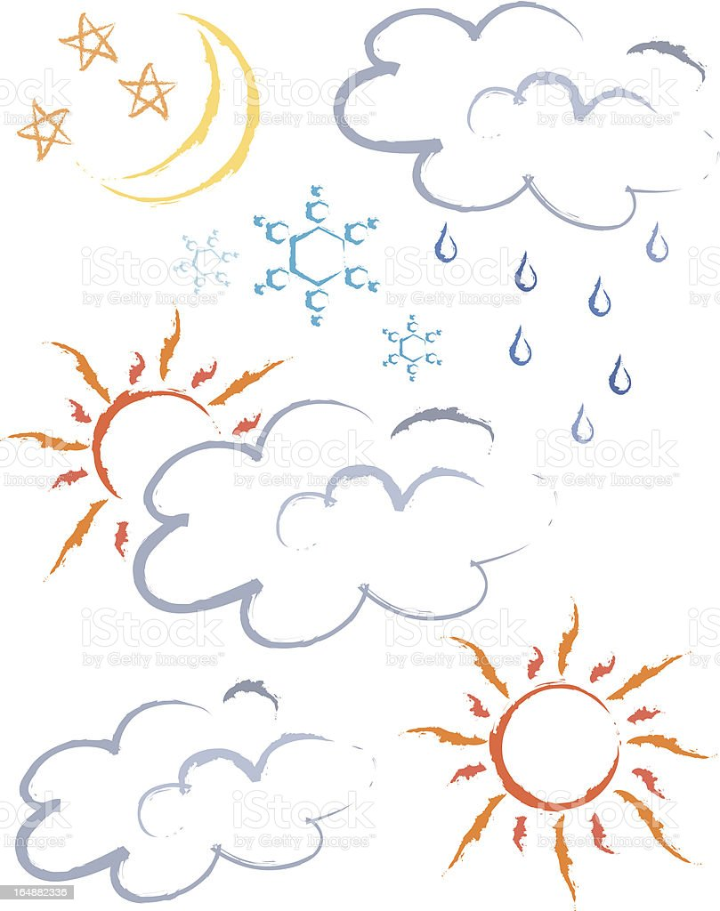 Weather royalty-free stock vector art