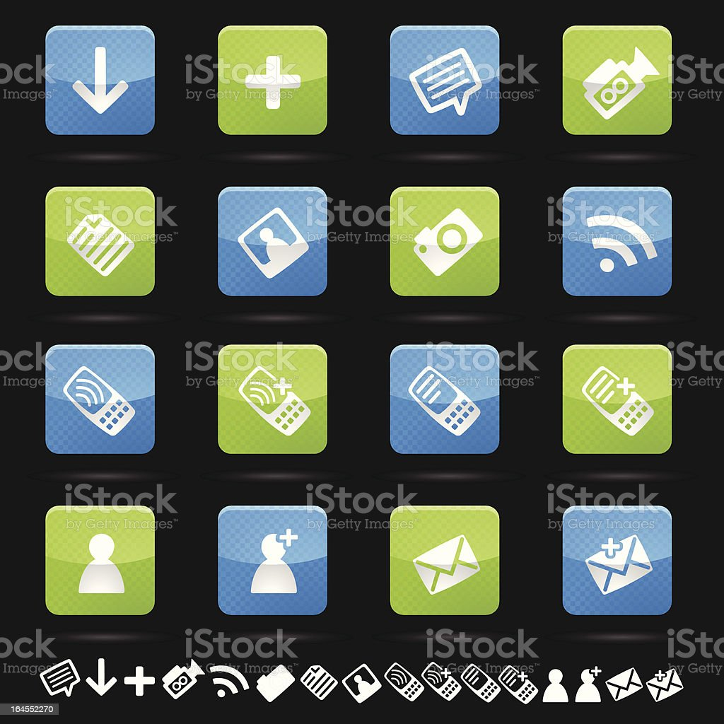 Web Icon Collection vector art illustration