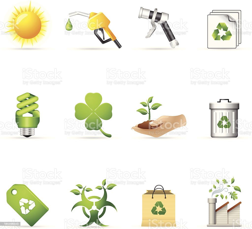 Web Icons - More Environment royalty-free stock vector art
