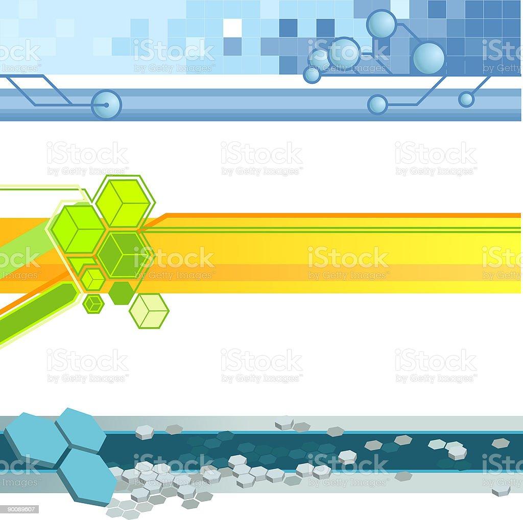 Website banner backgrounds royalty-free stock vector art