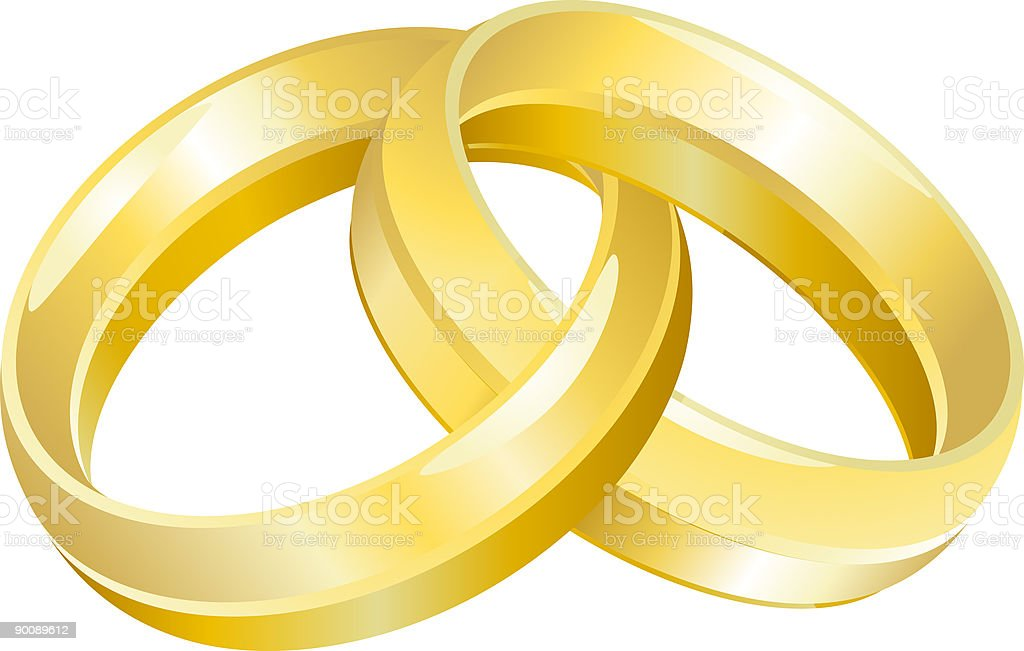 Wedding Bands royalty-free stock vector art