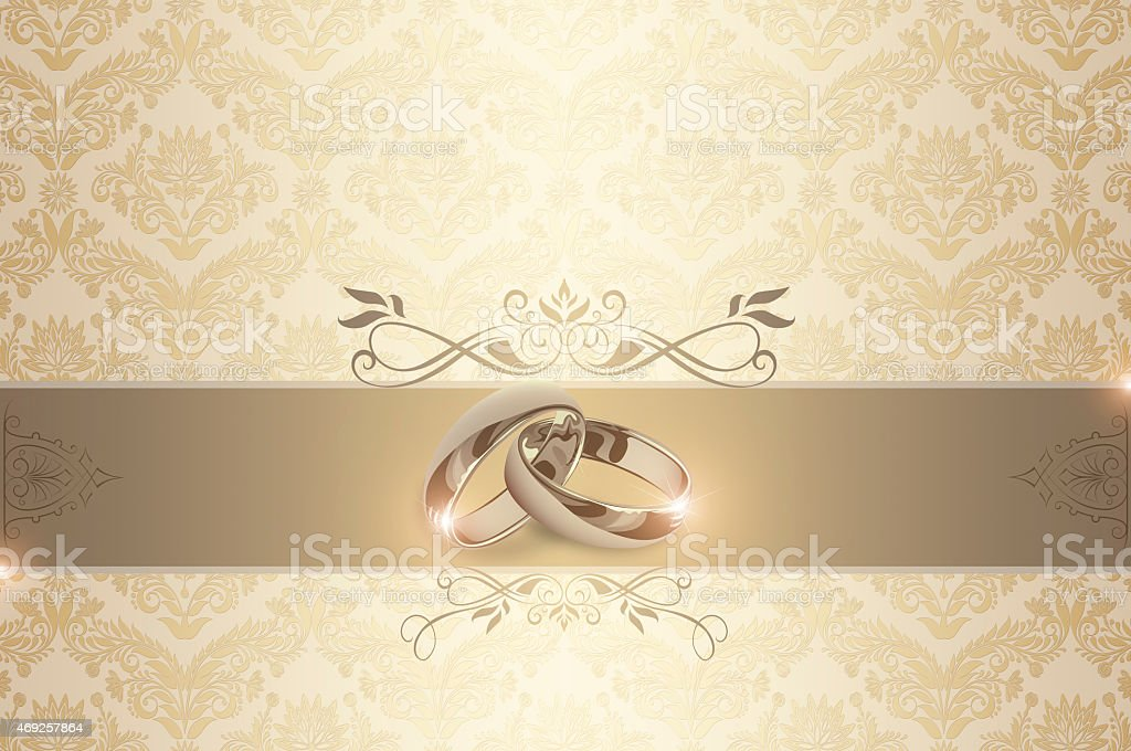 wedding invitation template stock vector art 469257864 | istock, Wedding invitations