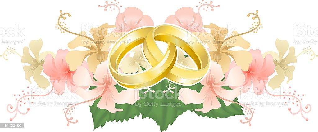 Wedding motif royalty-free stock vector art