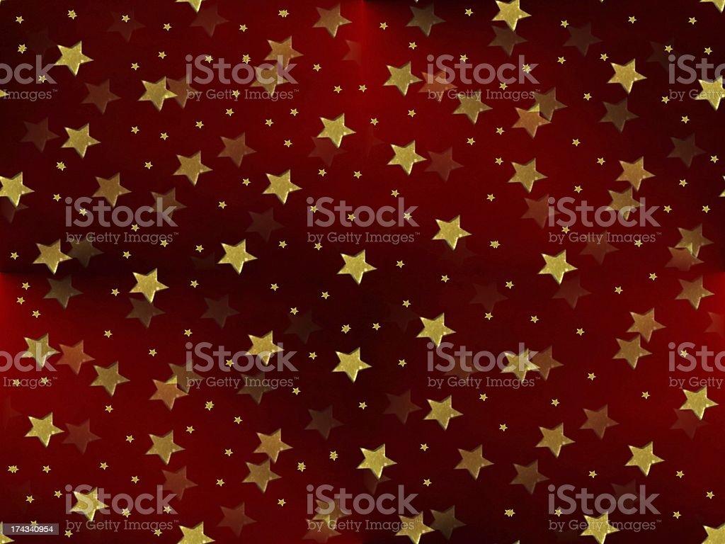 weihnachtlicher Hintergrund royalty-free stock vector art