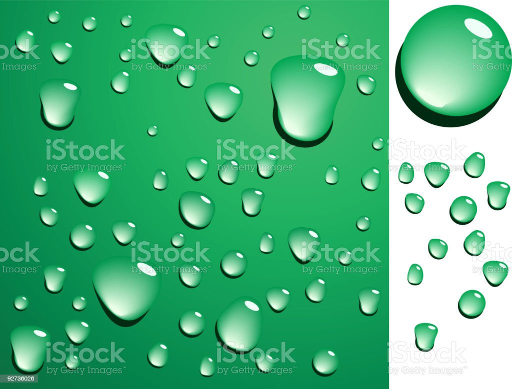 Wet surface. royalty-free stock vector art