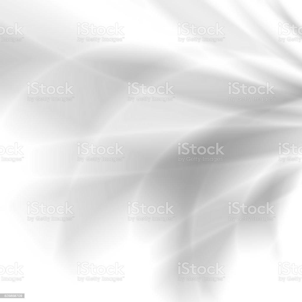 White abstract silky pattern design vector art illustration