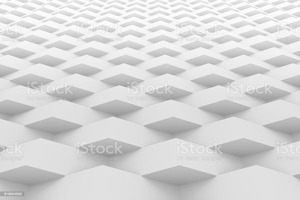 White geometric texture background vector art illustration