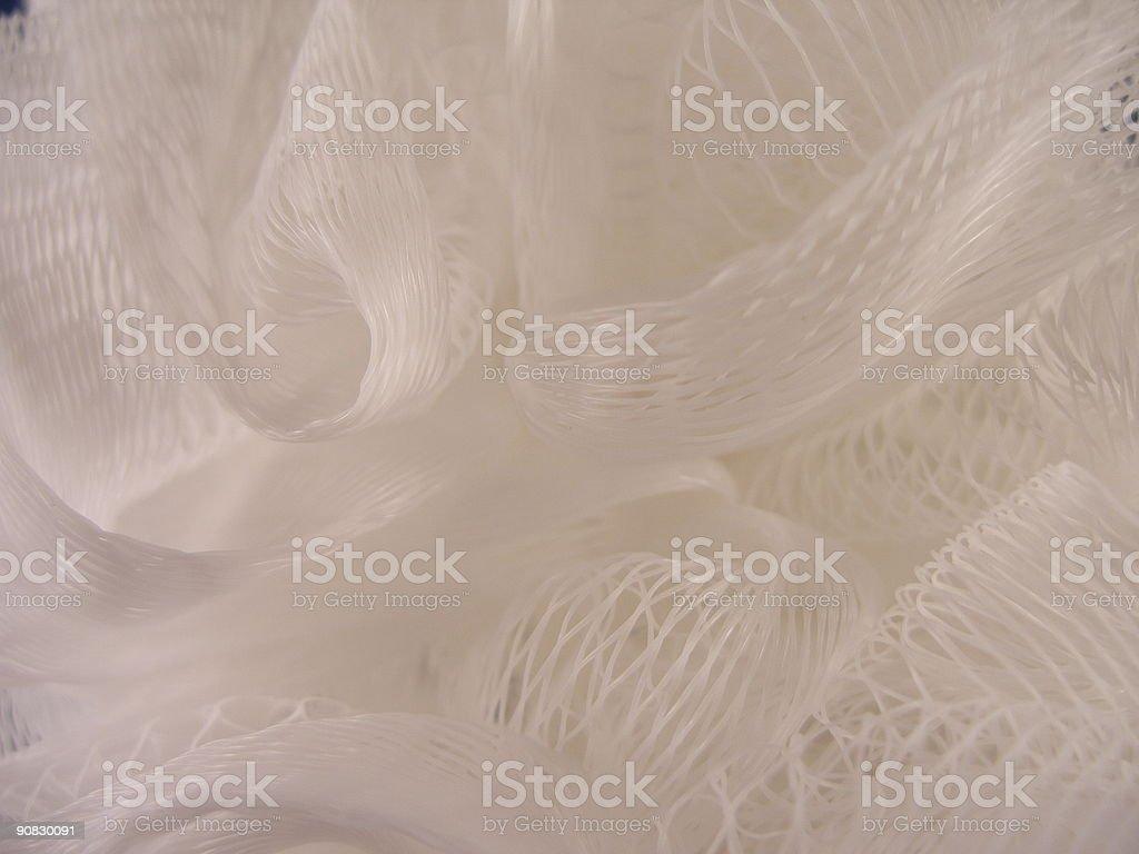 White Mesh vector art illustration