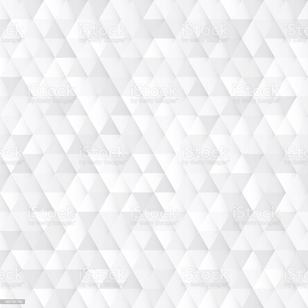 White seamless geometric texture stock photo
