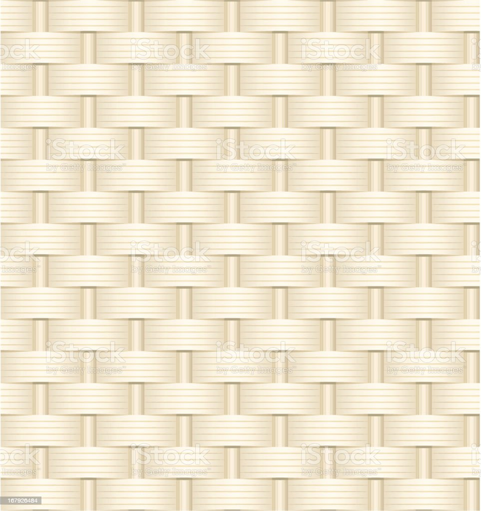 Wicker weave texture vector art illustration