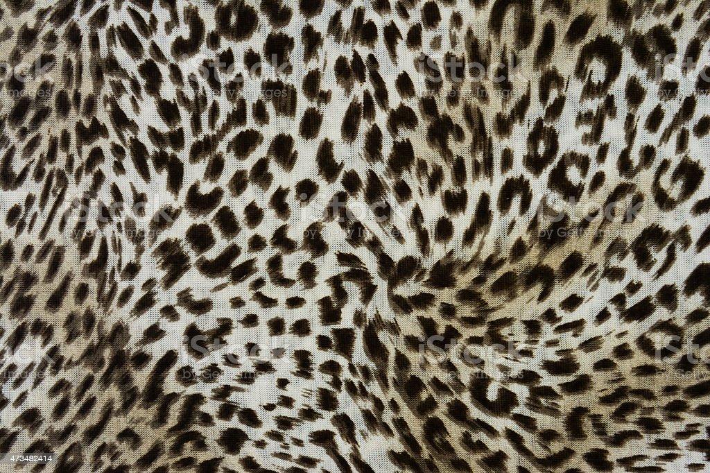 wild animal pattern background or texture vector art illustration