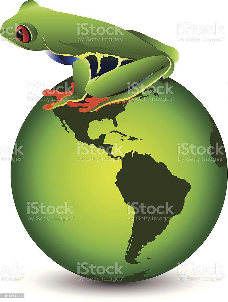 Wildlife Conservation vector art illustration