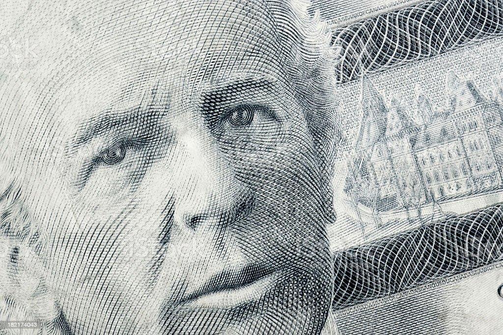Wilfrid Laurier vector art illustration