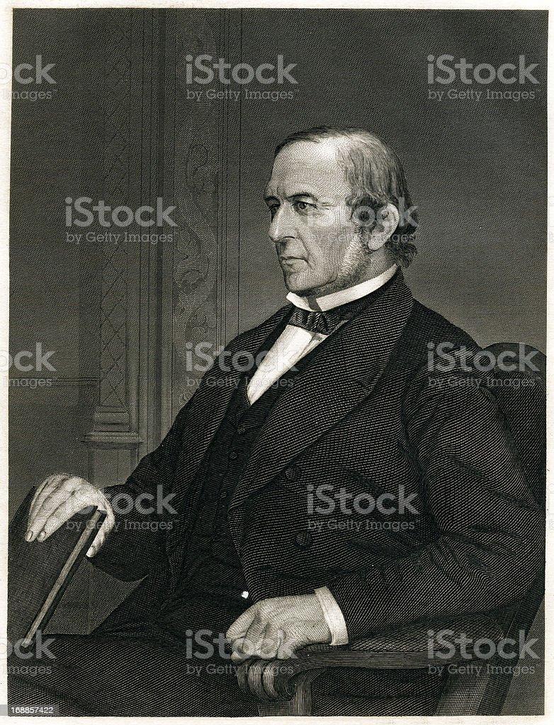 William Ewart Gladstone royalty-free stock vector art