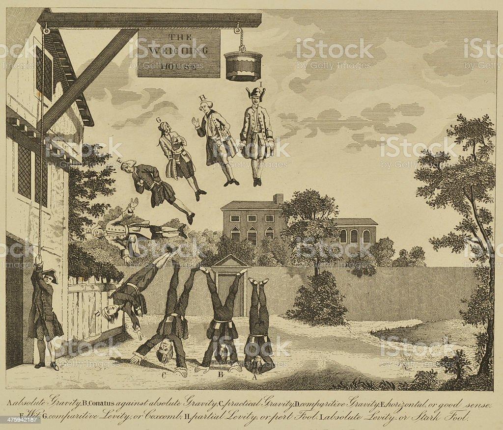 William Hogart art royalty-free stock vector art