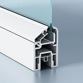 PVC window profile