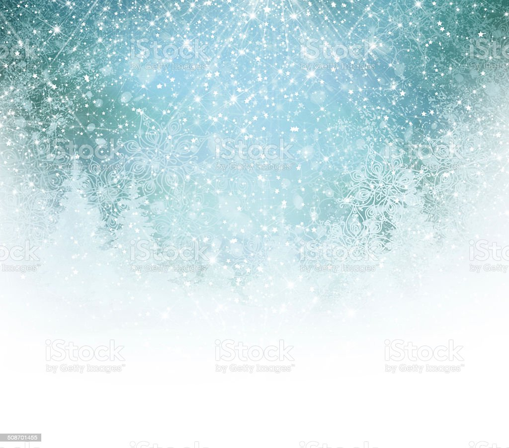 Winter background. vector art illustration