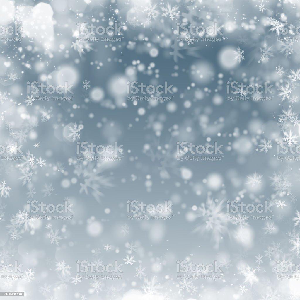 winter frost background vector art illustration