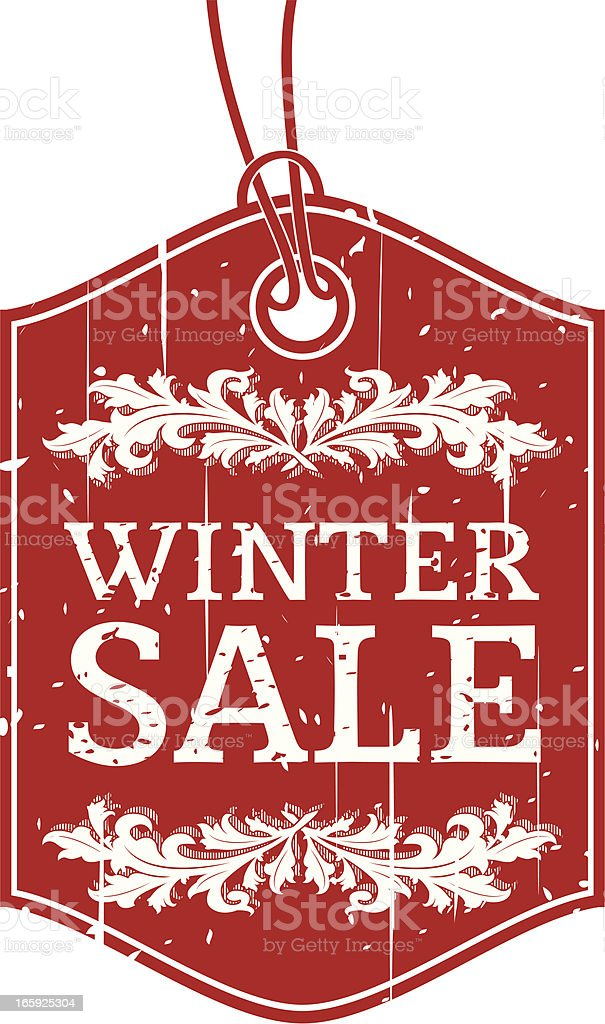Winter Sale royalty-free stock vector art
